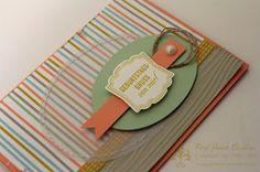 Stampin' Up! by First Hand Emotion: Geburtstagsgrüsse mit Sale-a-Bration Designerpapier