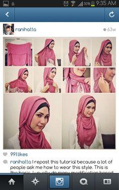 Ranihatta Hijab Tutorial