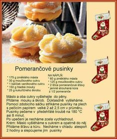 German Christmas Cookies, Christmas Sweets, Christmas Baking, Sweet Desserts, Sweet Recipes, Hungarian Cake, Czech Recipes, Baking Recipes, Cupcake Cakes