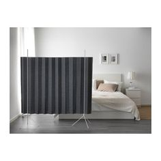 IKEA PS 2017 Room divider $50 - looks easy to assemble/disassemble and store - could be great for occasional guest privacy