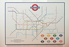 London Underground table plan. Photography by lauramccluskeyphotography.com
