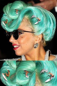 Lady Gaga Hair Barrel