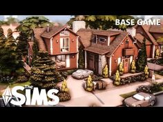 Sims 4 House Building, Sims House Design, Games Stop, Sims Ideas, Sims 4 Build, Sims 4 Houses, Modern Mansion, Stop Motion, Windmill