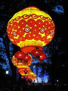 Cook Scrap Craft: Lantern Festival at Missouri Botanical Garden