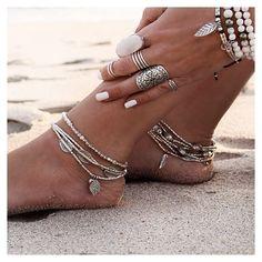 les pieds dans le sable, bijoux de pieds #summer