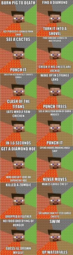 Only in Minecraft..