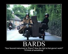 Bards posted by The Tygre