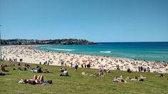 #bondi beach un rifugio nell'oceano dalla caotica #sydney