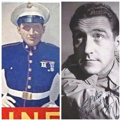 James Whitmore:Marines-WW2-2nd Lt.-He posed for the Marine poster. He served in the Panama Canal Zone.