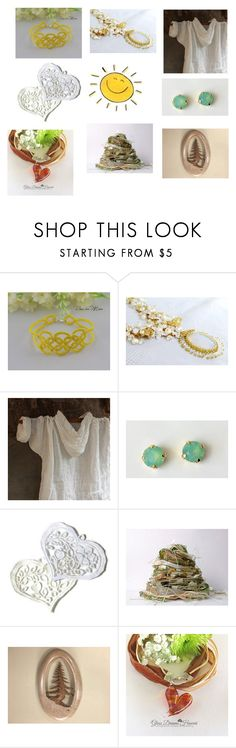 Giorno di sole by acasaconmanu on Polyvore featuring мода and Giallo