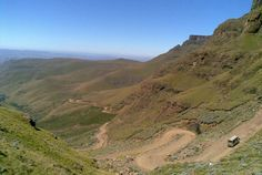 The 20 greatest driving roads in the world. Sani Pass. South Africa