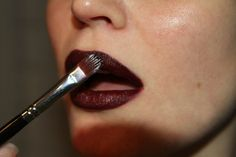 Tom Ford lipstick in Black Orchid