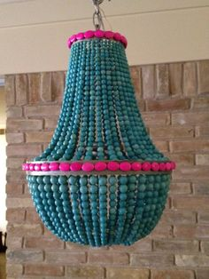 Hey, I found this really awesome Etsy listing at https://www.etsy.com/listing/127092436/turquoise-hot-pink-beaded-empire-style