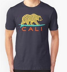 """CALI"" T-Shirts & Hoodies by Omar Mejia | Redbubble"