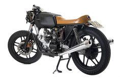 Moto Guzzi V35 Nero Boot
