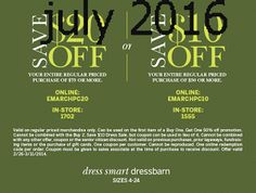 Dress Barn Coupons Ends of Coupon Promo Codes MAY 2020 ! Store Coupons, Grocery Coupons, Coupons For Boyfriend, Coupon Stockpile, Free Printable Coupons, Extreme Couponing, Coupon Organization, Coupon Codes, Barn