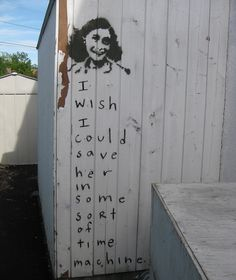 neutral milk hotel lyrics meet street art. this is beautiful.