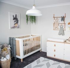 Have a look at this exciting green nursery - what a clever type
