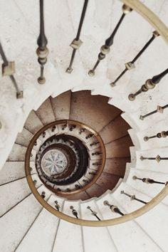 ♕ spiral staircase ♥