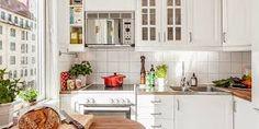 Znalezione obrazy dla zapytania styl skandynawski kuchnia