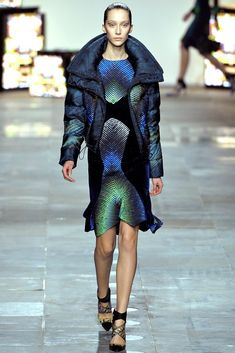 Peter Pilotto Fall 2012 Ready-to-Wear Fashion Show - Alana Zimmer