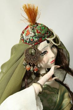 "Art doll from the ""Seven Beauties"" collection Khwarezmian Beauty"
