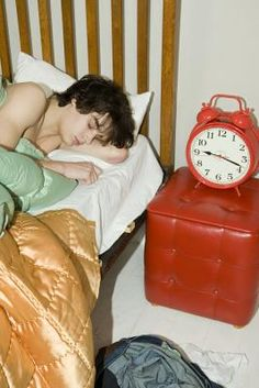 Teen Develop Sleep Routine 52