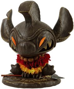 Wanted this so bad. Way to expensive now. MINDstyle x Disney Tiki Stitch Art Toy Collectible Vinyl Figure by Eric Tan 3d Figures, Vinyl Figures, Tiki Art, Tiki Tiki, Tiki Statues, Tiki Bar Decor, Tiki Lounge, Dragons, Tiki Room