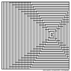 Geometric Coloring Pages | hubpages