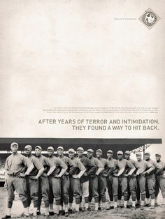 The Negro Leagues Baseball Museum Poster Series by Brandon Oltman, via Behance