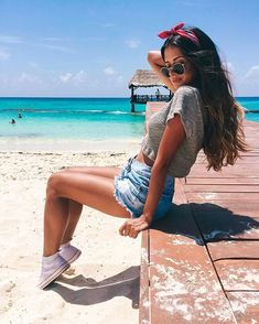 Pinterest: ☾beatrizrings☽ • Praia