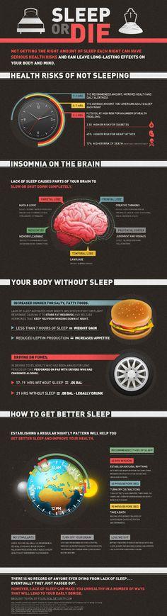 Slaaptekort op de lange termijn is slecht voor je gezondheid. Verhoogt de kans op diabetes en kan uiteindelijke fataal zijn