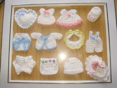 souvenirs de bautismo en crochet - Google Search