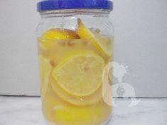 Ev yapımı 1 yıllık limon suyu | Anne Kaz