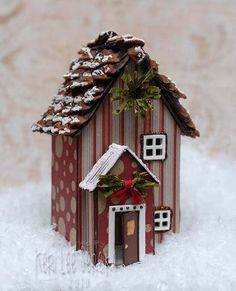 65279 Sizzix Scoreboards Pro Die – House, 3D, By Eileen Hull