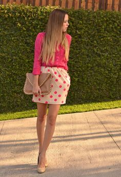 Perfect spring outfit but minus the purse !!
