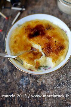Crème catalane de Christophe Michalak
