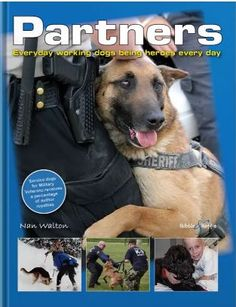 Partners: Everyday Working Dogs Being Heroes Every Day / Nan Walton Amazon Animals, German Shepherd Rescue, Learning To Trust, Military Veterans, Service Dogs, Working Dogs, Dog Behavior, All Dogs, Dog Lovers