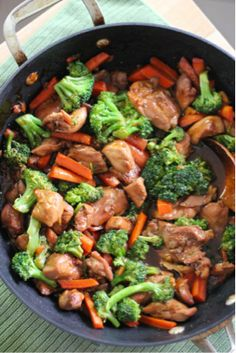 TERIYAKI CHICKEN WITH VEGETABLES #healthyeating #healthyrecipes #wolo