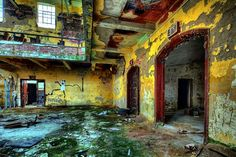 Factory, Abandoned, Destroyed