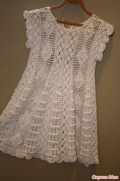Tejer juntos un maravilloso vestido bebé por Giovana Dias - tejer juntos en línea - casa las mamás