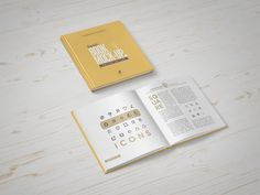 Square Book Mockup - Free Download