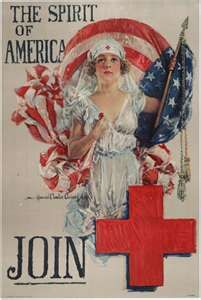 poster WW1 - The Spirit of America