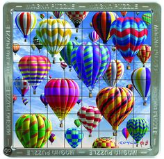 bol.com | 3D Mega Magna Hot Air Balloons,Cheatwell Games | Speelgoed