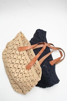 Beklina :: African Crocheted Totes $145.