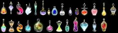 Potion Collection by Lyra-Elante.deviantart.com on @DeviantArt