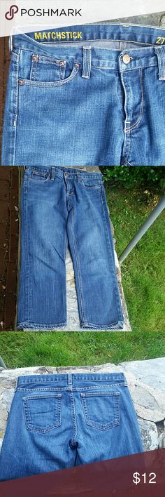 Jcrew Matchstick straight leg croped jeans Excellent condition J. Crew Jeans Straight Leg