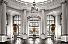old castles and palaces interiors | Castle Charlottenburg-Interior by pingallery on deviantART