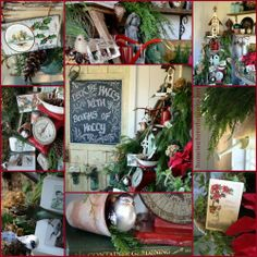 Deck the Halls Holiday Decor for the Potting Shed