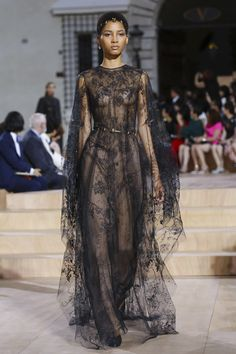 We spotted this dreamy dress on Valentino's catwalk.
